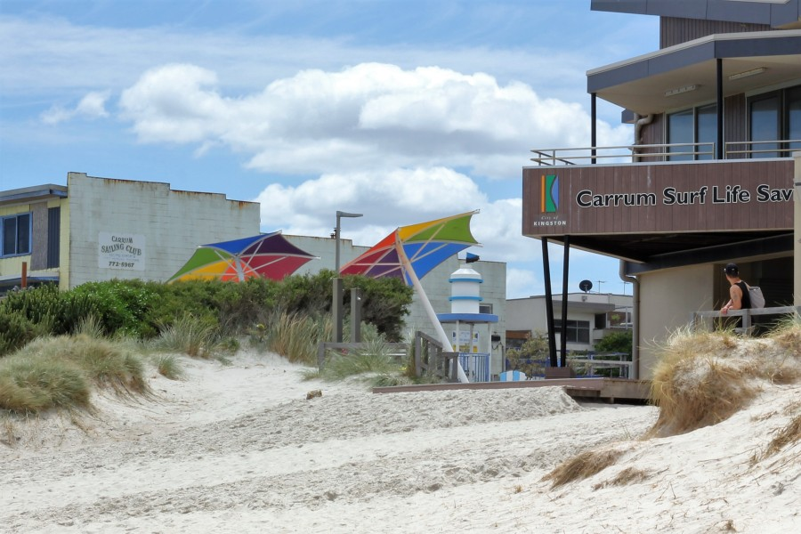 Carrum Beach and Playground