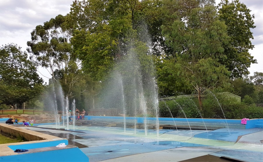 Seville Water Play Park