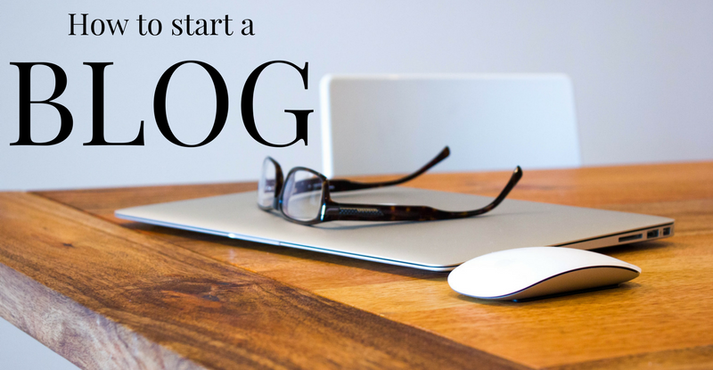 How to start ablog…