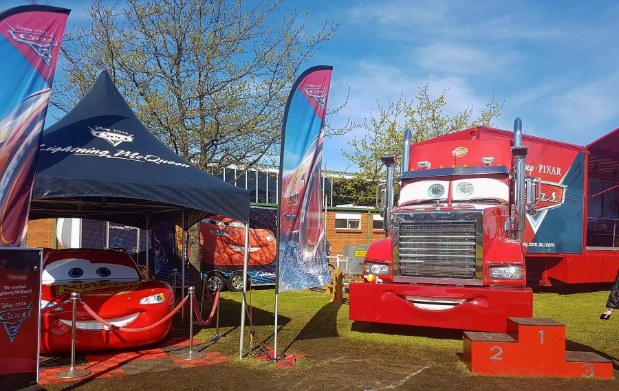 Lightning McQueen at theSupercars