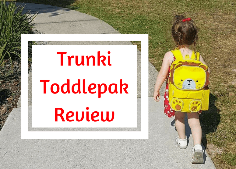 Toddlers and the Trunki Toddlepak Backpack