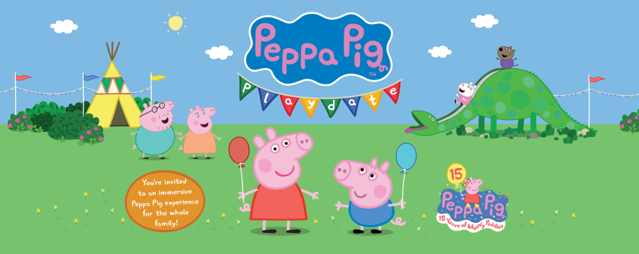 Peppa Pig Playdate!