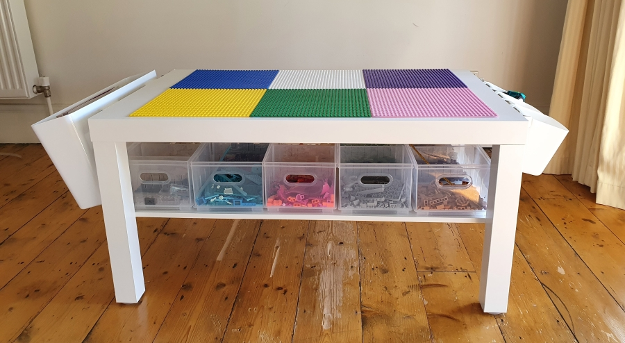 Our Lego Table – The Lack hack!